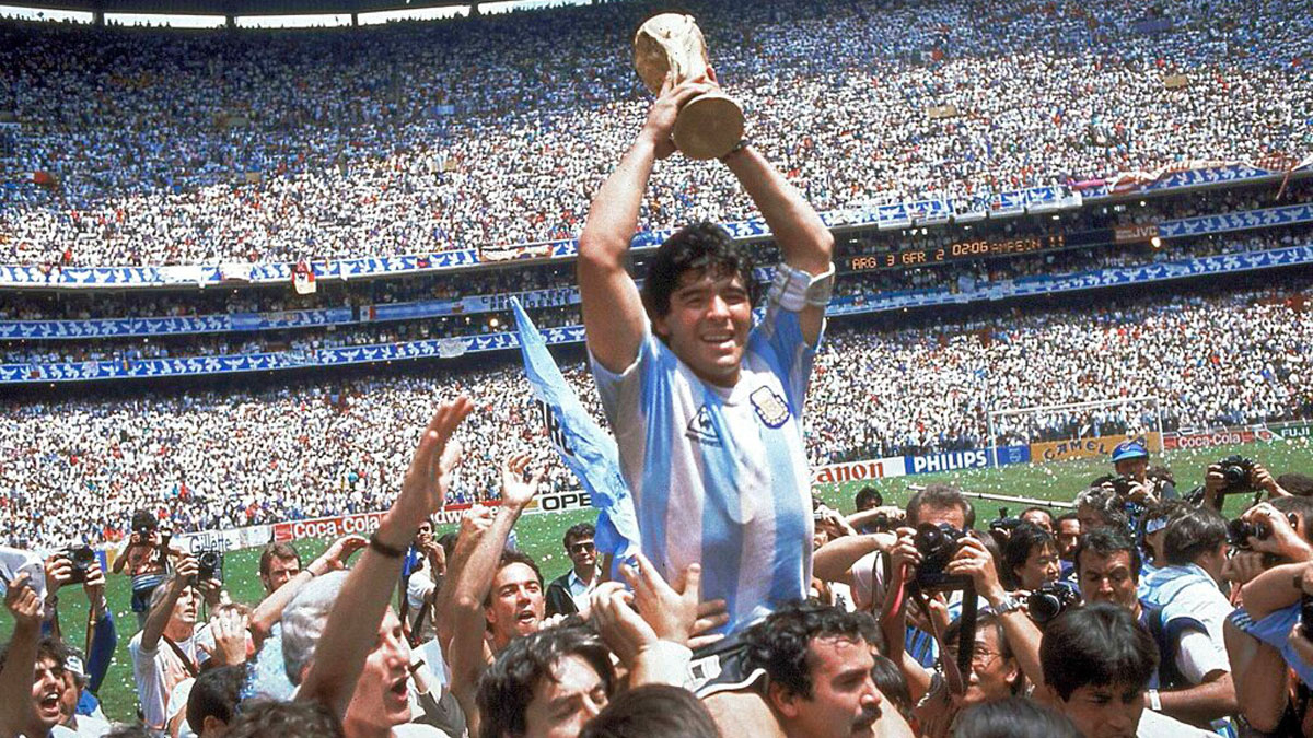 Diego Maradona Passes Away at 60 in 2020